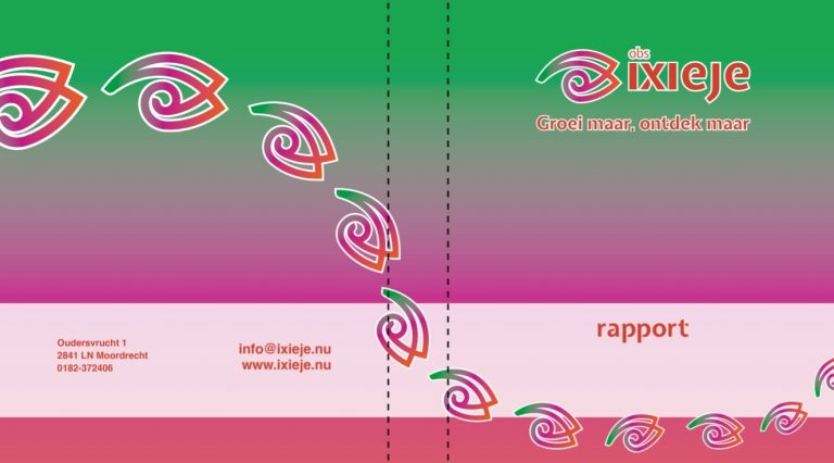 Rapportmap basisschool IXIEJE