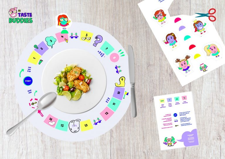 De Tastebuddies 'BordSpel' placemat