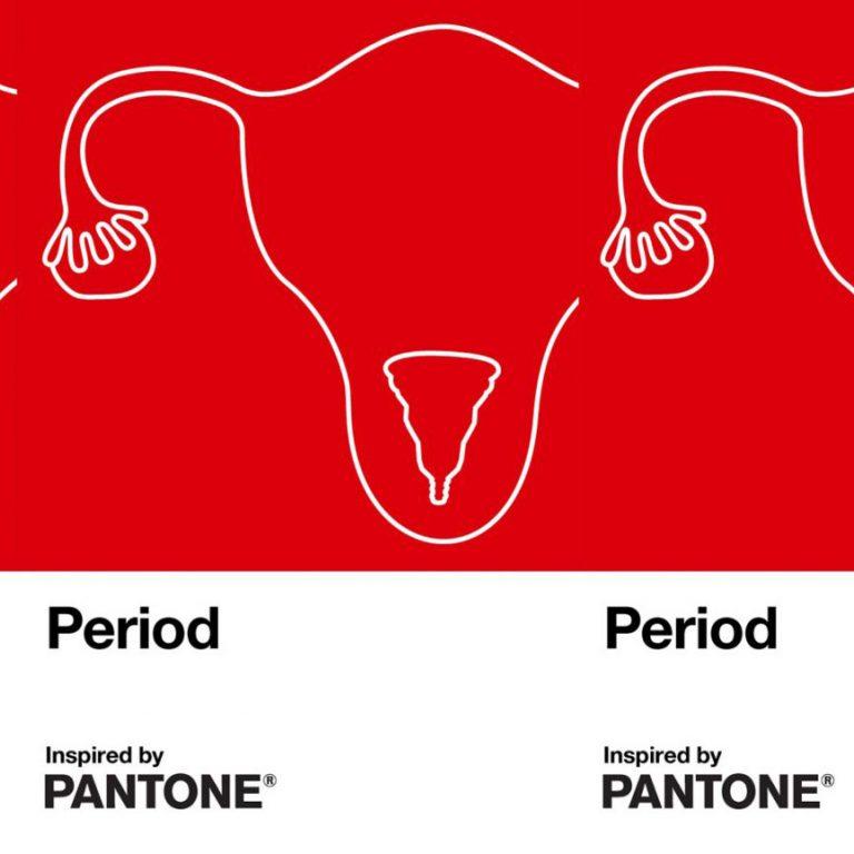 Pantone releases taboo-breaking period color