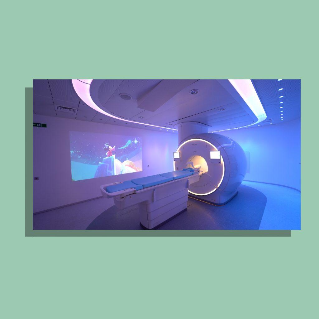 Philips werkt samen met Disney aan kindvriendelijke MRI